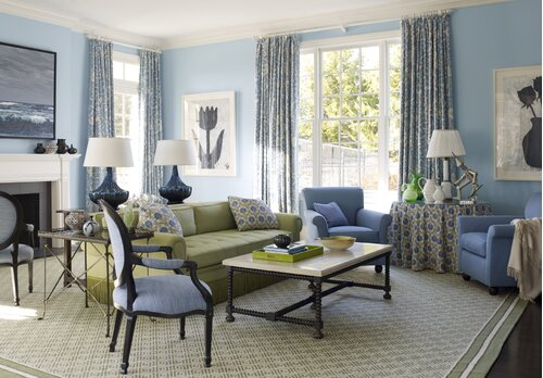100+ French Country, Living Room Design Ideas | Wayfair