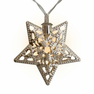 Touch of ECO Solar Stars Novelty String Lights