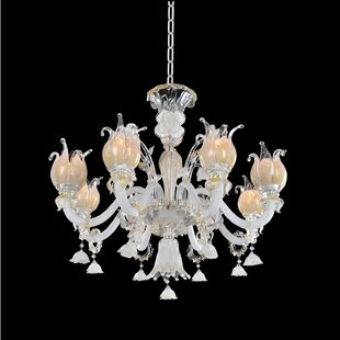 Allegri by Kalco Lighting Artemisia 8-Light Shaded Chandelier