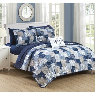 Glenni Reversible Quilt Set
