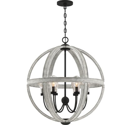17 Stories Ludgershall 6 Ligh Outdoor Chandelier Decorating Outside Com