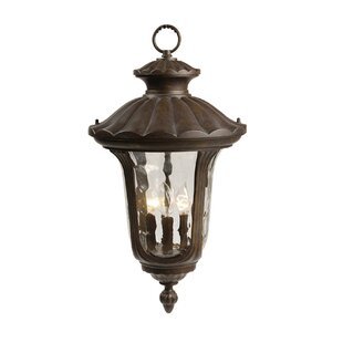 Reviews 3-Light Outdoor Wall Lantern By Mariana Home