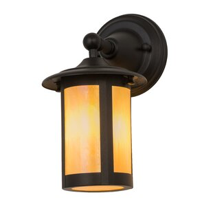 Yerby Outdoor Wall Lantern by Loon Peak