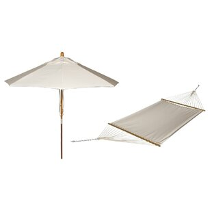 Buyers Choice Phat Tommny Sunbrella Tree Hammock with Umbrella