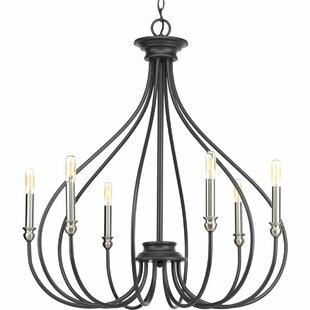 Gracie Oaks Chaney 6-Light Chandelier