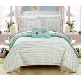 Hatton Reversible Quilt Set