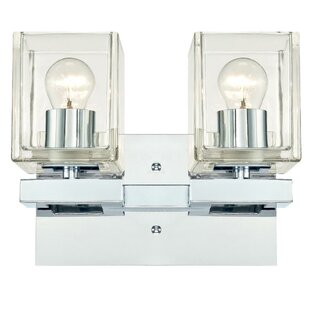 Knowlton Contemporary 2-Light Vanity Light by Latitude Run