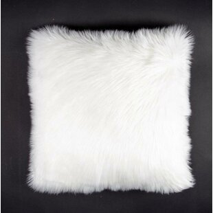 Avey Fuzz Shag Throw Pillow