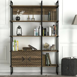 Lauretta Standard Bookcase by Brayden Studio Today Sale Only