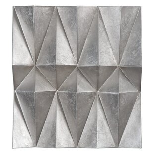 Silver Metal Wall Décor Set Of 3