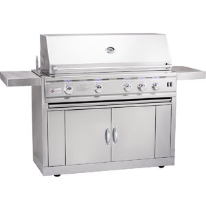 TRLD Propane Gas Grill with Side Shelves
