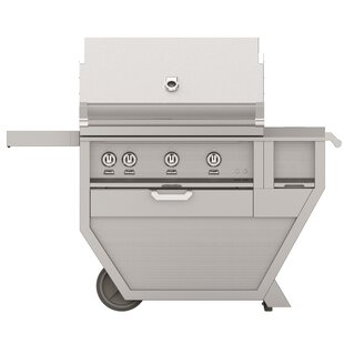 4-Burner Built-In Propane Gas Grill With Smoker By Hestan