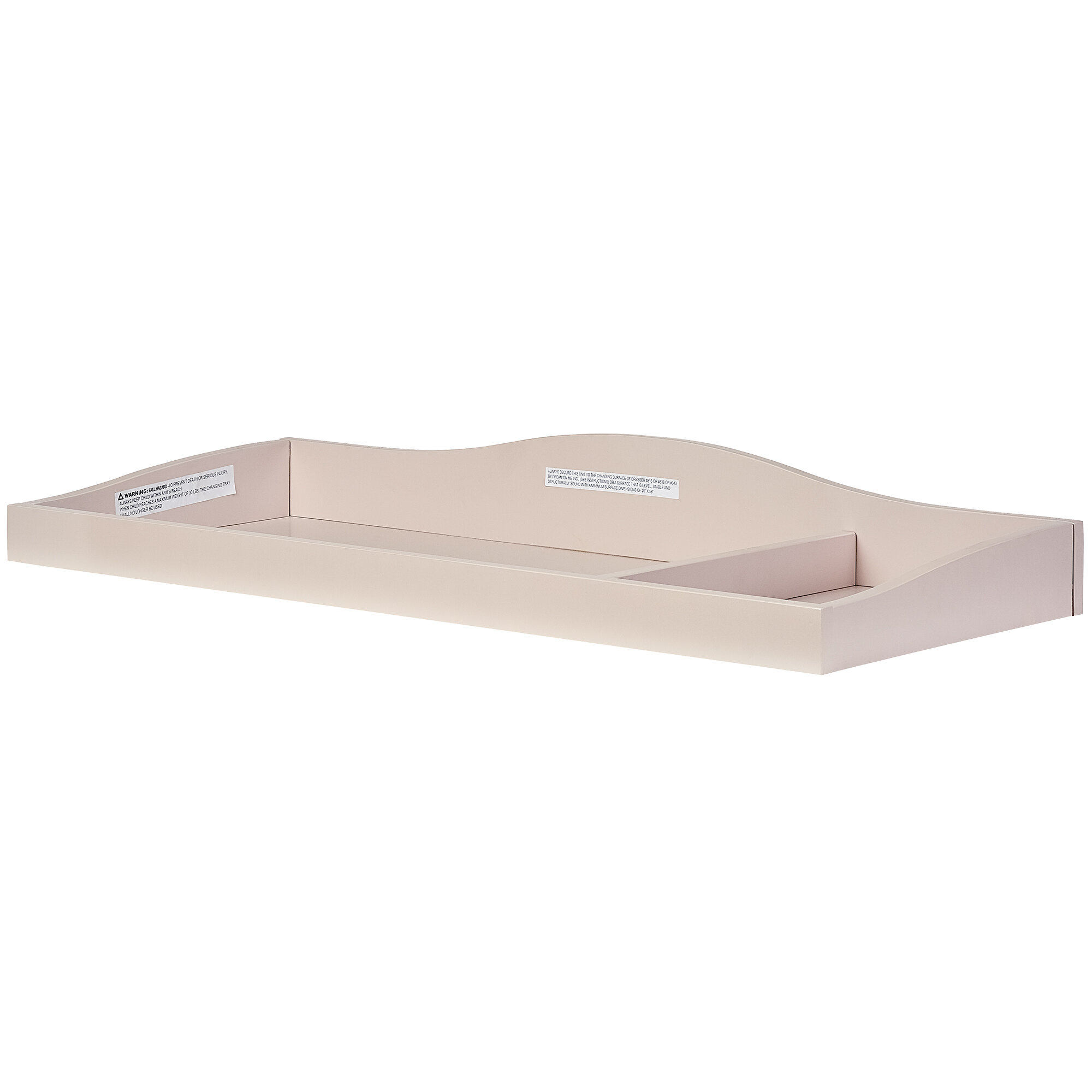 Image of: Evolur Universal Changing Table Topper Reviews Wayfair