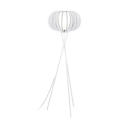 159 cm Tripod-Stehlampe Mikel Laurel Foundry Schirmfarbe: Weiß | Lampen > Stehlampen | Laurel Foundry