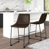 Amendola 26 Counter Stool (Set of 2) by Mercury Row