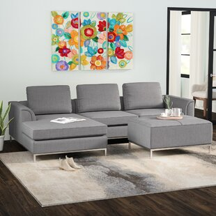 Wade Logan Catlett Sectional with Ottoman
