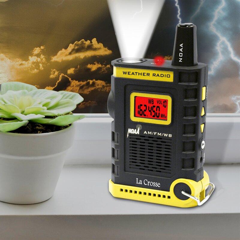 La Crosse Technology Super Sports NOAA AM/FM Weather Radio
