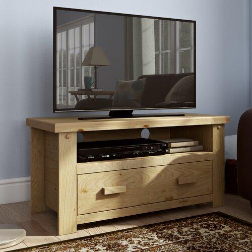 TV-Schrank Archer für TVs bis zu 40 | Wohnzimmer > TV-HiFi-Möbel > TV-Schränke | Beige | Kiefernholz | Mühlenhaus