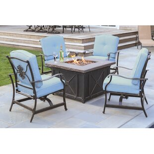 Patio Furniture Conversation Sets With Fire Pit.Gas Fire Pit Conversation Sets Wayfair