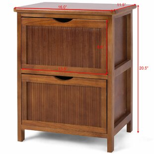 Kirsten 2 Drawer Nightstand