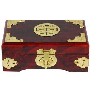 Affordable Brass Shou Jewelry Box ByOriental Furniture