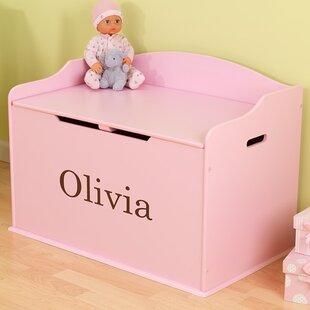 Personalized Austin Toy Storage Bench