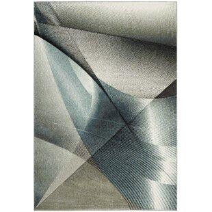 Anne Gray/Teal Area Rug by Orren Ellis