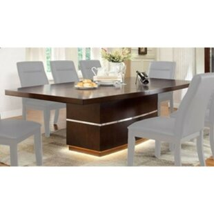 Northfleet 9 Piece Extendable Solid Wood Dining Set Orren Ellis