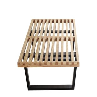 Fine Mod Imports Wood Bench