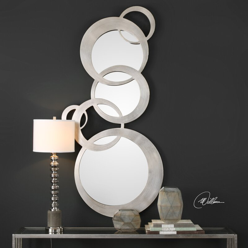 Ponticus Odiana Rings Modern & Contemporary Accent Mirror