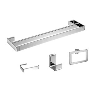 Gala 4 Piece Bathroom Hardware Set