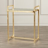 Gold Trestle Base End Side Tables You Ll Love In 2020 Wayfair