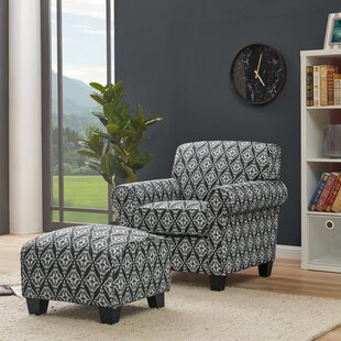 Hummel Armchair and Ottoman