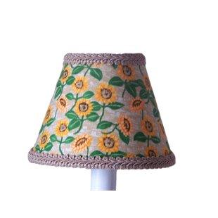 Sunflower Fields 11 Fabric Empire Lamp Shade