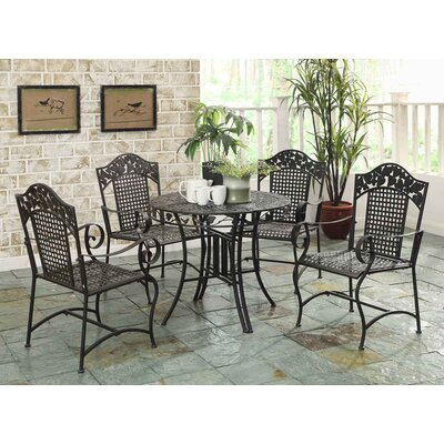 Pemberville 5 Piece Dining Set by Darby Home Co Savings