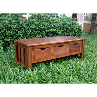 Pine Hills Coffee Table with Storage Beachcrest Home