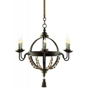 Aidan Gray Atlas 5-Light Candle-Style Chandelier