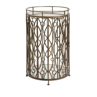 Bandhani End Table by Bungalow Rose