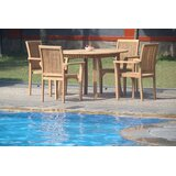 Massie 5 Piece Teak Dining Set