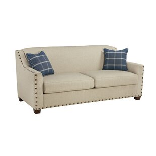 Gracie Oaks Chaitanya Sugar Shack Sleeper Loveseat
