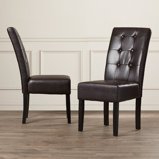 Cleophus Side Upholstered Dining Chair (Set of 2)