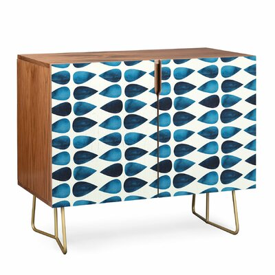 Simple Drop Credenza