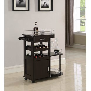 Ellison 3 Tier Serving Bar Cart by Alcott Hill