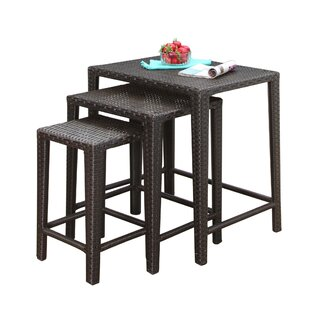 Mercury Row Arruda 3 Piece Side Table Set