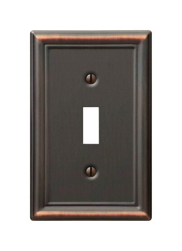 Symple Stuff Tindle 1 Gang Toggle Light Switch Wall Plate Reviews Wayfair