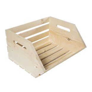 Vegetable Solid Wood Crate