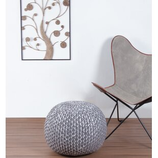 Makris Knitted Pouf by Bungalo..