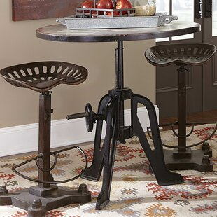 Andrei 3 Piece Adjustable Pub Table Set 17 Stories