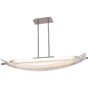 Orren Ellis Jerkins 2-Light Inverted Pendant