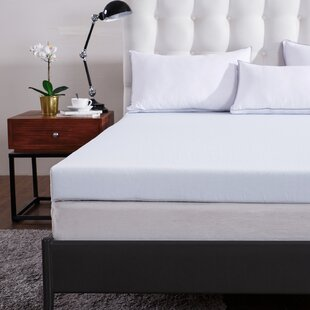 Comfort & Relax Cr Sleep 2'' Memory Foam Mattress Topper